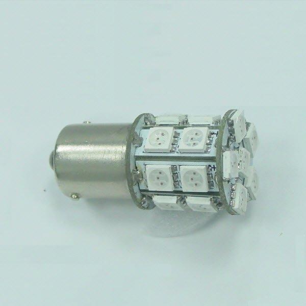 【PA LED】1157 雙芯 20晶 60晶體 360度發光 SMD LED 黃光 後燈 煞車燈