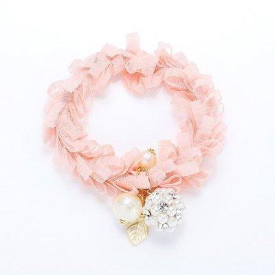 《現貨》韓國❤️珍珠 鑽球 粉嫩 緞帶...