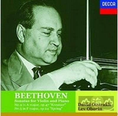 貝多芬:小提琴奏鳴曲-克羅采、春/歐伊史特拉夫&歐柏林---4758374