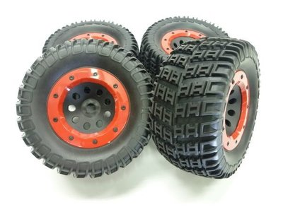 大千遙控模型 雷虎 1/8 MT-4 G3 大腳車輪胎框一車份(六角輪座:17MM )