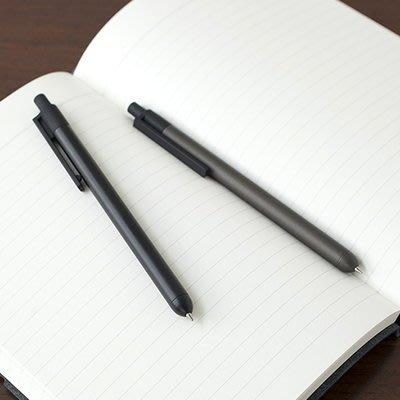 Ξ ATTIC Ξ 韓國livework~ Convex Pen 簡約弧度 金屬桿按壓式原子筆