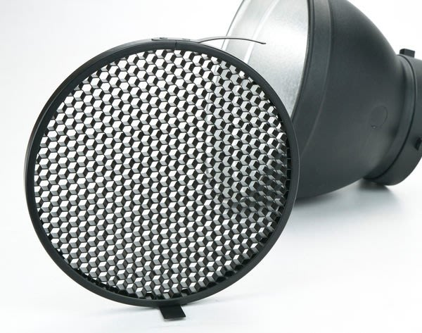 呈現攝影-18cm 蜂巢片6x6 標準罩專用 全金屬 蜂巢罩 可上棚燈 L型傘座+標準罩組可用 離機閃