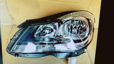 ☆雙魚座〃汽車精品〃BEN W204 2012年~2014年 C250 小改款原廠型薰黑大燈 w204 大燈