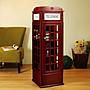 英式電話亭收納櫃 紅色電話亭造型置物櫃 電...