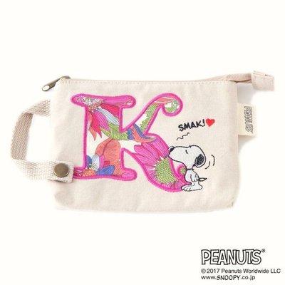 全新日本正品 LIBERTY ×ピーナッツ(PEANUT) ティッシュポーチ 私密包 紙巾包 零錢包【款式:K】