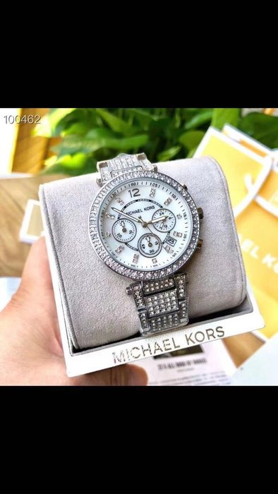 MICHAEL KORS 新款優雅時尚女士石英手錶 附盒子