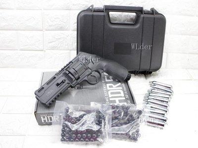 [01] UMAREX HDR 50 防身 鎮暴槍 左輪 CO2槍 + CO2小鋼瓶 + 鎮暴彈 + 加重鎮暴彈+ 槍盒
