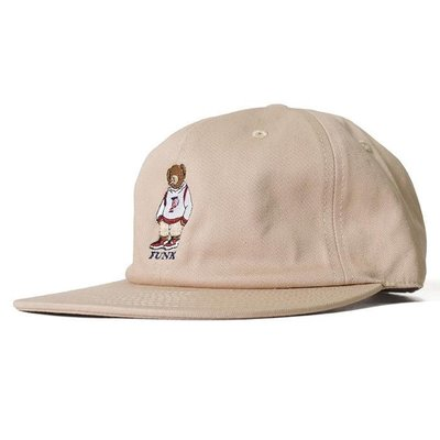{ POISON } INTERBREED P WING BEAR BALL CAP 日本頂級刺繡小熊棒球帽老帽 卡其