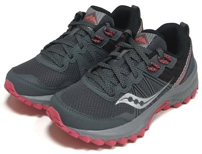 【菲瑪】SAUCONY EXCURSION TR14 入門款全地型越野跑鞋 美國女寬版 炭珊瑚SCS10584-5 免運