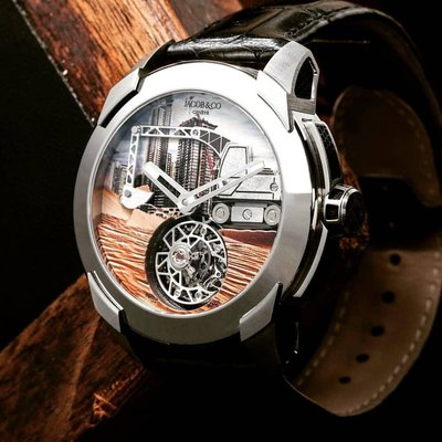 Jacob & Co. [NEW][LIMITED 18 PIECE] Pioneer Tourbillon PI422.20.AB.AB.A