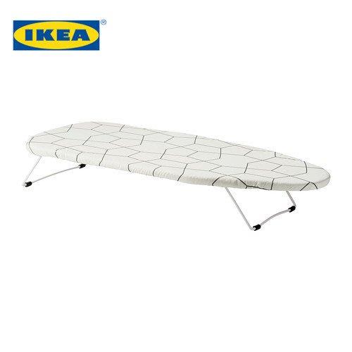 宜家IKEA加爾 桌面式熨衣板燙衣板家用台式熨衣板折疊迷你熨斗架