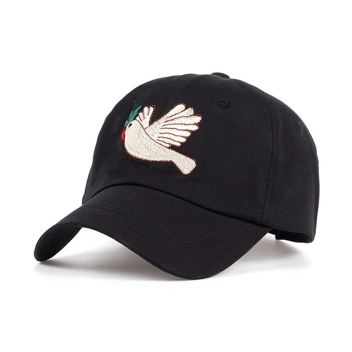 FIND 韓國品牌棒球帽 男女情侶 時尚街頭潮流 鴿子刺繡 帽子 太陽帽 鴨舌帽 棒球帽