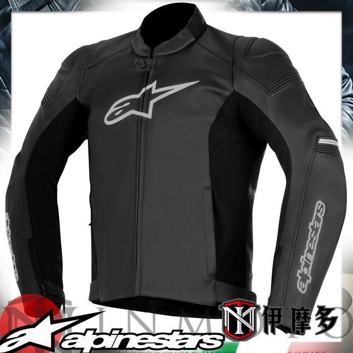 伊摩多※義大利 Alpinestars 防摔皮衣 SP-1 LEATHER JACKET 黑3100817-10