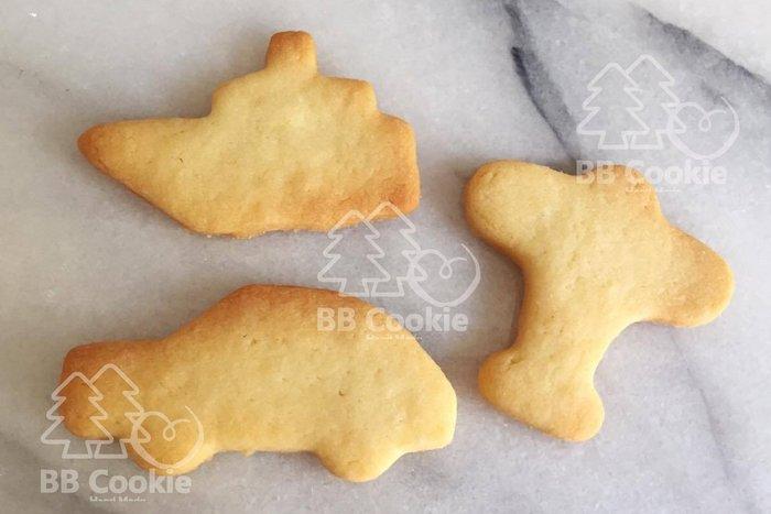 「BB Cookie森林手作」手工餅乾/造型餅乾/健康無添加餅乾 飛機 小汽車 船