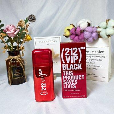 (潮牌香水鋪)Carolina Herrera羅琳娜20年新香212VIP RED ROSE/RED BLACK 男士