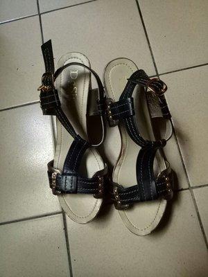 專櫃 DeSire涼鞋8.5跟 7.5cm9成新適合24-24.5腳穿(盒內)