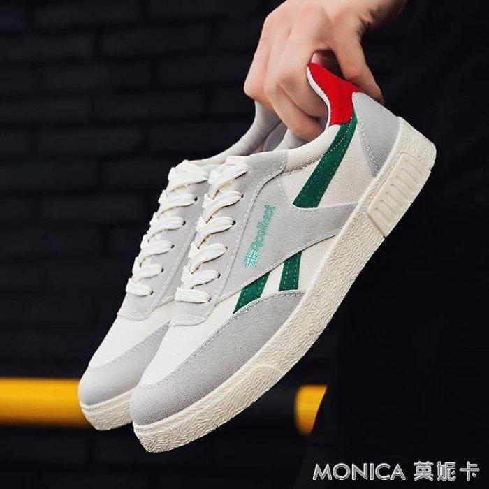 帆布鞋男士休閒鞋男韓版布鞋男鞋運動平板鞋透氣學生潮流鞋子