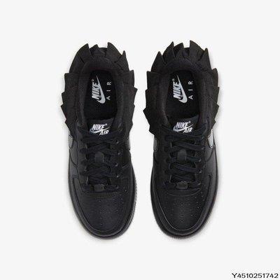 Nike Air Force 1 LV8 Ruffle CI2302-001 女慢跑休閒男女鞋