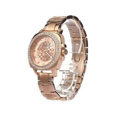 【Woodbury Outlet Coach 旗艦館】COACH 14501701 母親節特女士手錶 精鋼錶帶 美國代購