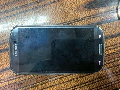 SAMSUNG 三星i9305 手提電話 著機但爆屏無顯示
