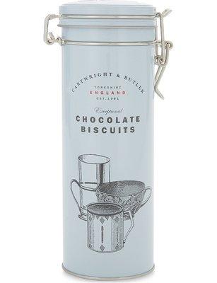 [要預購] 英國代購 英國CARTWRIGHT & BUTLER 黑巧克力薑餅 190g