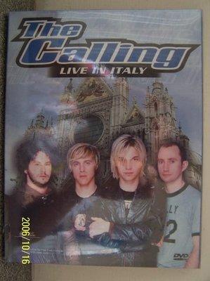 【流行DVD】669.Calling-義大利之旅(曲目詳照片),全新未拆封