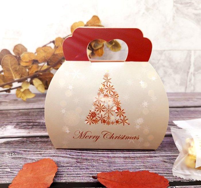 Amy烘焙網:小清新手提聖誕包裝盒/小禮物盒牛扎糖盒/手工餅乾盒/點心糖果巧克力盒