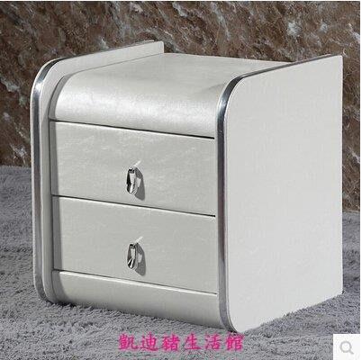 【凱迪豬生活館】床頭櫃簡約 宜家儲物櫃住宅家具 歐式床頭櫃皮現代床邊櫃特價KTZ-200908