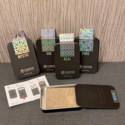 【38日韓】台灣 FLAVOUR 隨身木質香氛鐵盒
