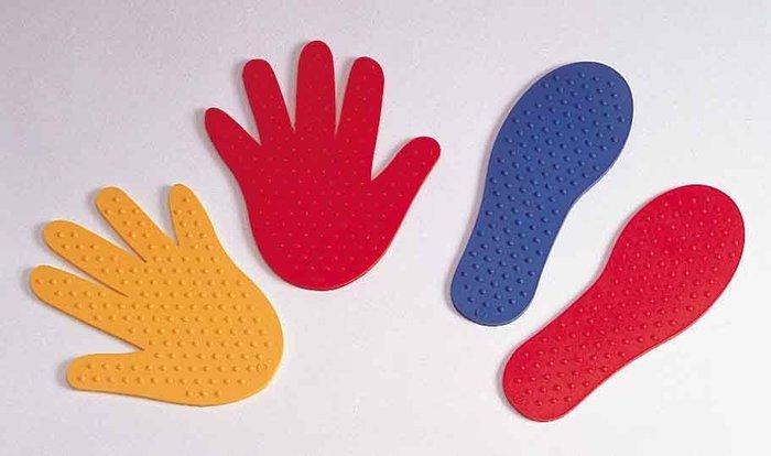 感統家族_WEPLAY 感覺統合  手眼協調/肢體協調訓練_手腳印各2對