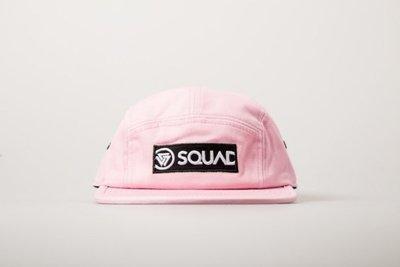 (MARVELOUS) SQUAD 2017 S/S BOX LOGO 5 PANEL CAP 貼布五片帽 粉紅色