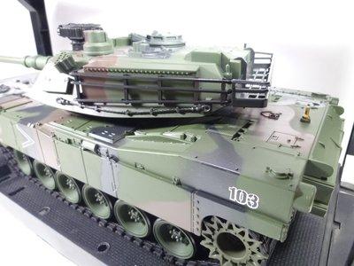 無二RC 1:20 美國M1A2 遙控坦克聲光戰車/ 可發射BB彈/ 砲管有後座力 (6) 屏東縣