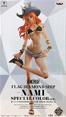 日本正版 景品 海賊王 航海王 FDS 娜美 特別色 Mollyfantasy PALO 限定 公仔 模型 日本代購