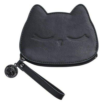 星巴克 萬聖節 黑貓證件零錢包