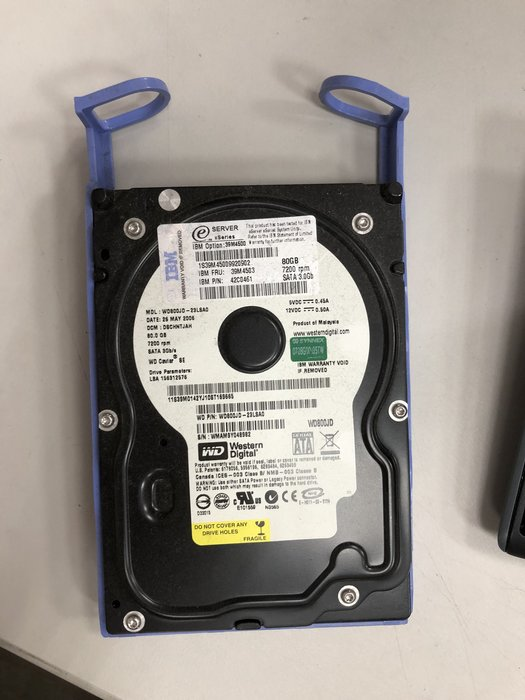 【偉斯科技】IBM eServer xSeries 80GB 7200RPM 26K5308 39M3701