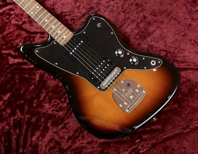 大鼻子樂器 Fender Jazzmaster Black Top Rosewood HH 夕陽漸層