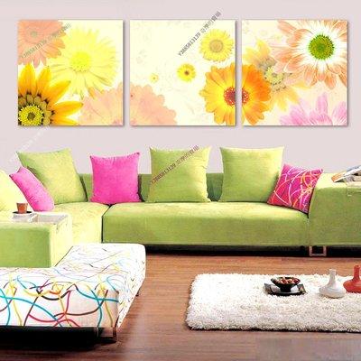 【40*40cm】【厚0.9cm】向陽花-無框畫裝飾畫版畫客廳簡約家居餐廳臥室牆壁【280101_365】(1套價格)