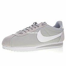 """Nike Classic Cortez""""牛津布淺灰白""""經典復古 休閒滑板鞋 807472-010 男鞋"""