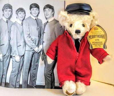 歲月收藏:英國經典Merrythought + DAKS手工泰迪熊