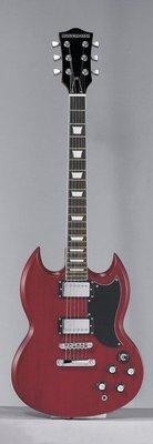 ☆ 唐尼樂器︵☆ Musicadenza TM-2300 高級油壓弦鈕經典款 SG 型電吉他(超值11項配件)