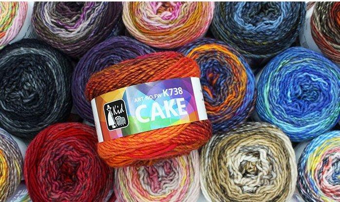 編織KID K738 CAKE蜜糖毛線~輪針帽子、圍脖、圍巾、衣服~手工藝材料、編織書、編織工具、進口毛線☆彩暄手工坊☆
