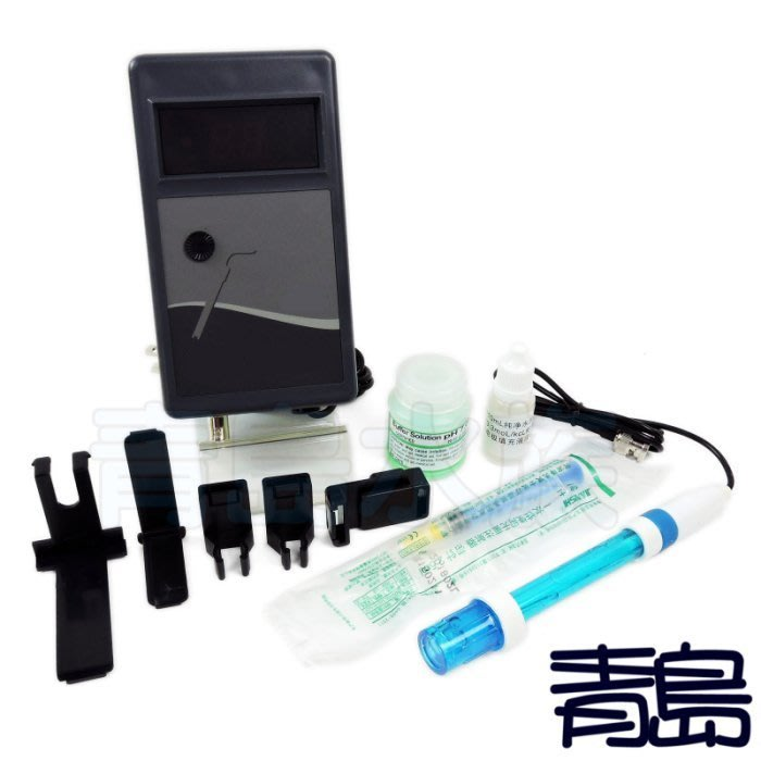 V/Y。。。青島水族。。。台灣藍天------PH監測器 測試器(小數點後1位)==含副廠電極