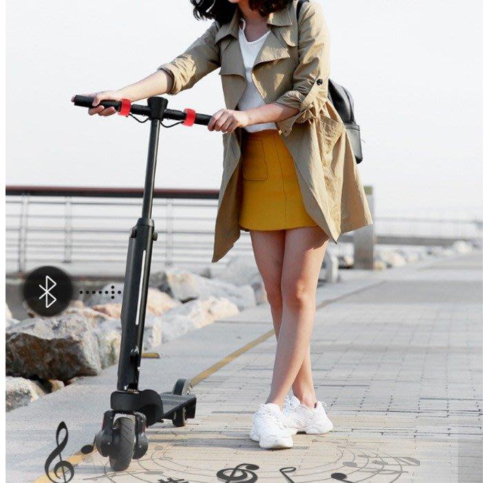 5Cgo【樂趣購】含稅歡喜X6折疊電動滑板車便攜帶成人電動車小型超輕電動車兩輪代步車搭高鐵捷運火車上班-可另加購備用電池