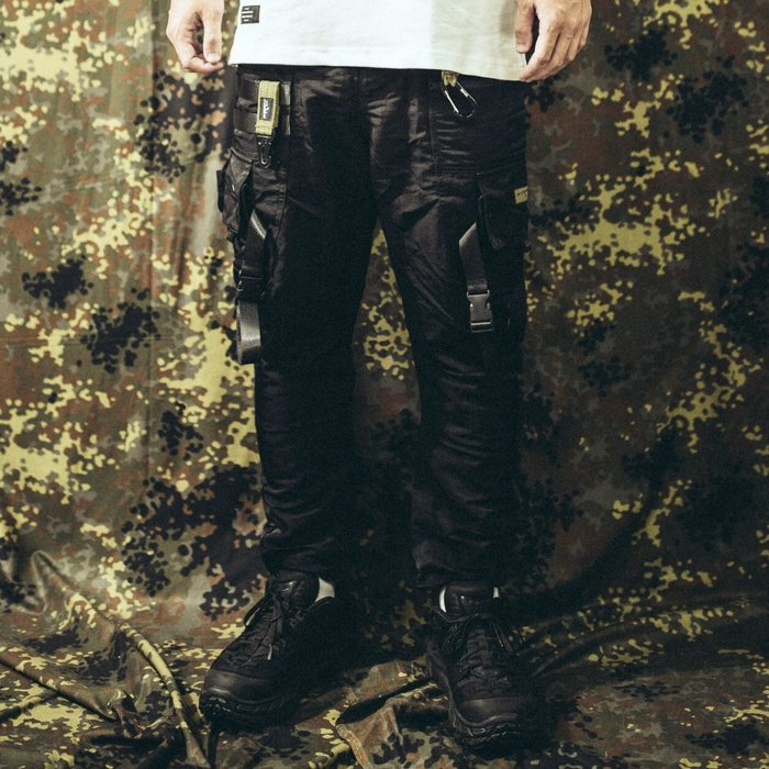 """GHK """"Abstract Collection"""" Functional Pants 戰術長褲/黑色"""
