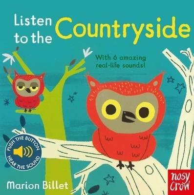 全新現貨 Listen to the Countryside 寶寶 硬頁音效書