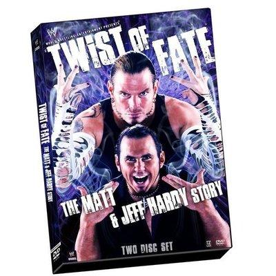 ☆阿Su倉庫☆WWE摔角 Twist of Fate The Matt and Jeff Hardy Story HARDY BOYZ精選特輯 熱賣特價中