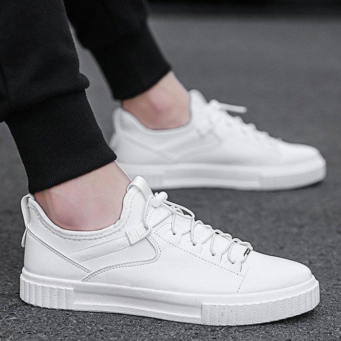 時尚男鞋新款板鞋男爆款男鞋韓版跨境男士小白鞋防滑休閑鞋男