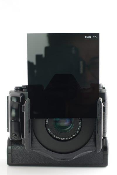 又敗家Tianya天涯80方型濾鏡ND16減光鏡全黑色減光鏡相容法國Cokin高堅P型號P全黑減光鏡ND減光濾鏡減4格黑色濾鏡ND中灰濾鏡中灰ND濾鏡ND減光鏡