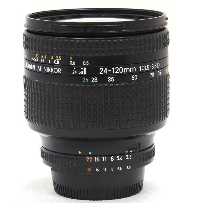 『永佳懷舊』NIKON Nikkor AF 24-120mm f3.5-5.6D D NO.310129 ~中古~
