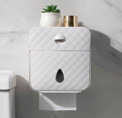 居家簡約 壁掛式 紙巾收納盒